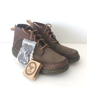 Dr. Marten Flloyd Boots Dark Brown Mesa New